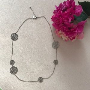Gorgeous NY and Company long asymmetric necklace